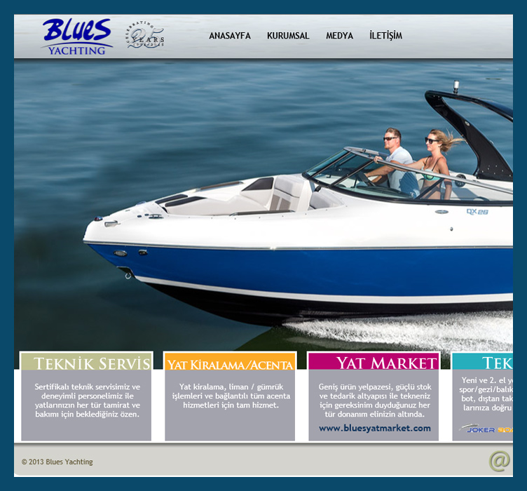 Blues Yachting